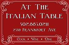 At The Italian Table Logo
